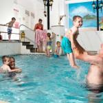 Indoor swimming pool at Kenegie Manor