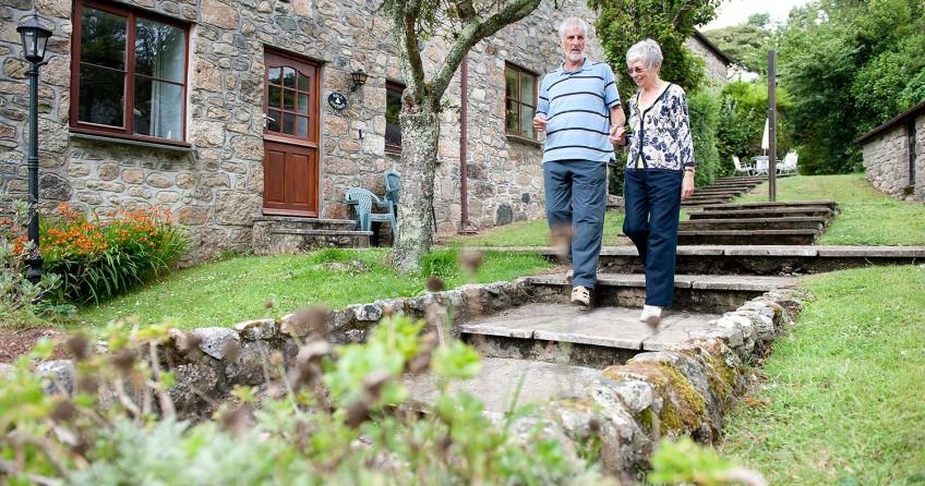 enjoy barn holidays in Cornwall at Kenegie Manor