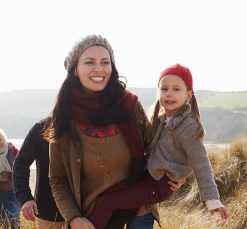 Family-Autumn-Winter-Beach-Dunes-Penzance-Cornwall