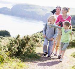 Family-Walking-Coastal-Holidays-Penzance-Cornwall-Holidays