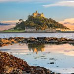 St-Michaels-Mount-Sunset