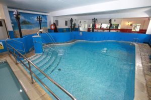 Swimming pool at Kenegie Manor